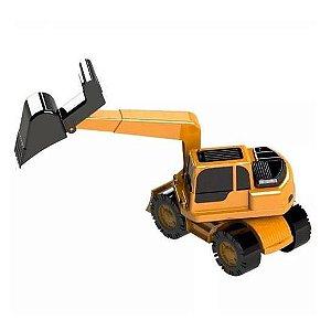Trator Escavadeira GRANDE 46 cm PCKID 360 - Plaspolo - ref 067 eft150
