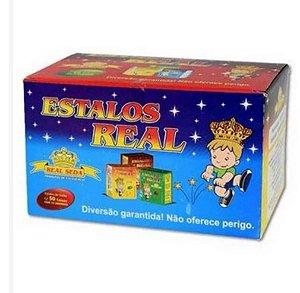 Biribinha Real - caixa com 50 caixinhas de 10 estalinhos - 892-2762 - Real Seda