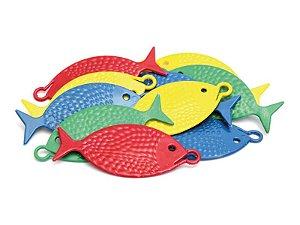 Peixinho para Pescaria Le Plastic - kit com 10 Peixinhos - Ref.9473