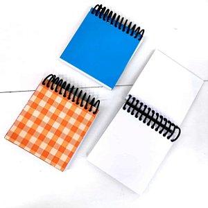 Bloquinhos de anotacoes com 40 folhas - Bloco de anotacoes 8 x 8 cm - desenhos sortidos - Ref.3420