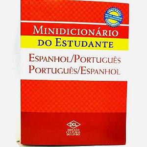 Dicionario Espanhol Português - Minidicionario do Estudante - D.C.L.