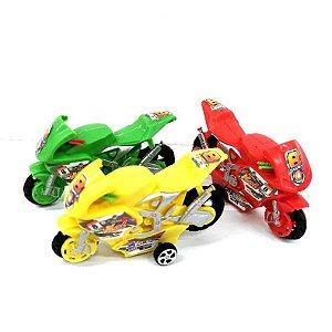 Moto de corrida a fricção - Motocicleta  de brinquedo - 10cm - TOY19094 db