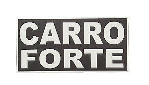 Patch Carro Forte emborrachado com velcro Para Costa Da Capa De Colete