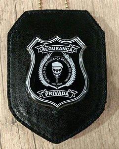 Distintivo P51S Caveira segurança privada