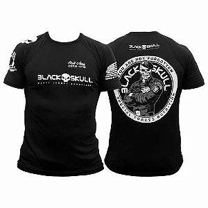 Camisa tática Black  Skull Bope