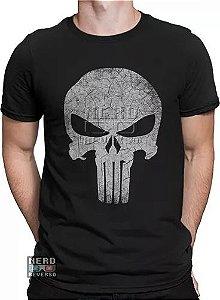 Camisa Justiceiro 100% Algodão