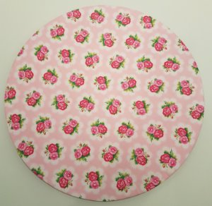 Capa de tecido para sousplat