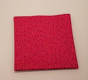 Guardanapo Pink com florzinhas