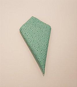 Guardanapo verde com flozinhas verdes
