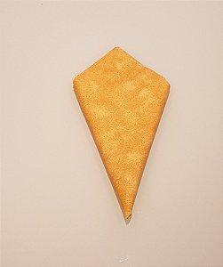 Guardanapo amarelo mesclado  laranja