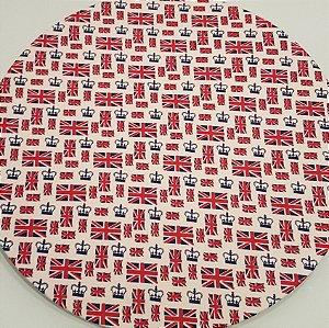 Capa Sousplat Bandeira Londres Coroa