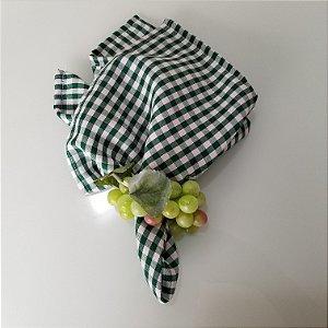 Porta guardanapo uva verde