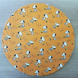 capa tecido digital snop fundo laranja