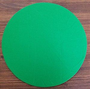 Capa Sousplat tecido algodão verde