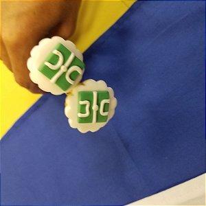 Colher Chá biscuit copa campo futebol
