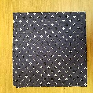 Guardanapo de tecido algodão 42cm azul marinho
