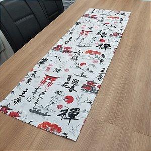 Caminho de mesa japones