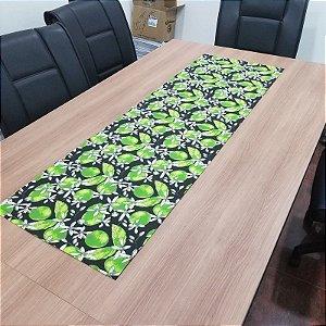 Caminho de mesa limao