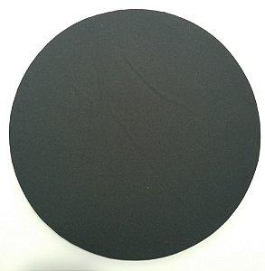 Capa de tecido preto liso