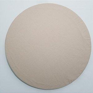 Capa de tecido bege liso