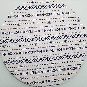 Capa de tecido mosaico egito
