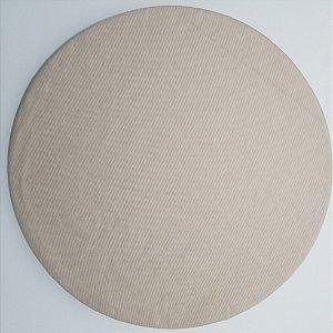 Capa de tecido bege