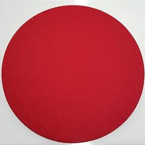 Capa de tecido vermelho liso