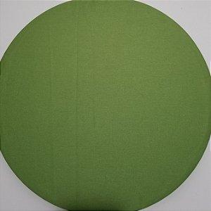 Capa de tecido verde claro