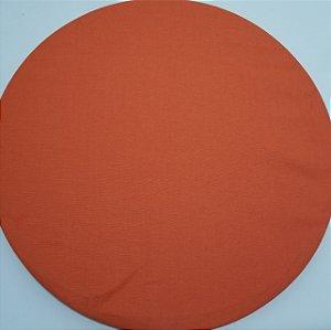 Capa de tecido laranjo liso