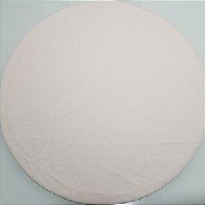 Capa de tecido branco liso