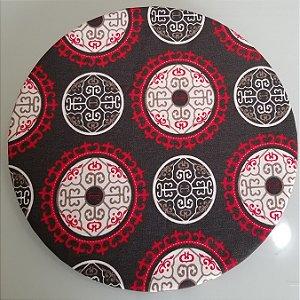 Capa de tecido bolas japonesas