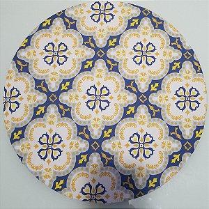 Capa de tecido mosaico simetrico