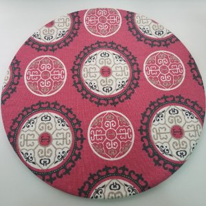 Capa de tecido decoração mandalas