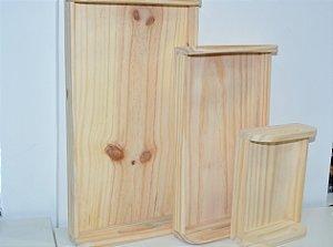 Kit bandeja madeira