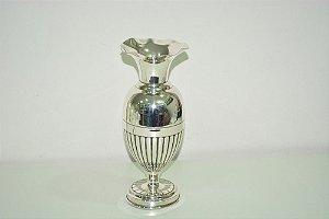 Vaso banhado a prata