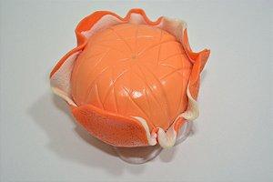 Enfeite de mesa laranja