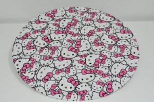 Capa de sousplat Hello Kitty
