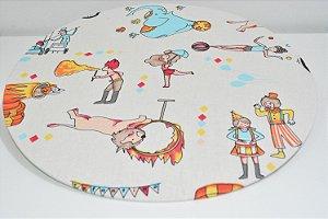 capa de sousplat fundo Circo
