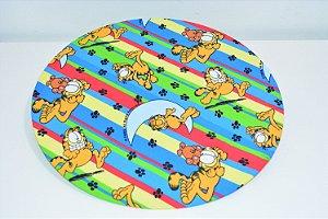 capa de sousplat de Garfield dormindo colorido