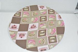 capa de sousplat cupcake