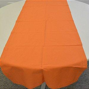 caminho de mesa laranja