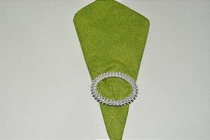guardanapo verde riscadinho