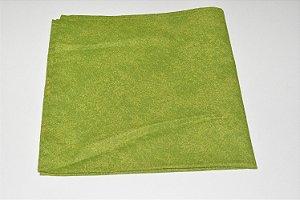 guardanapo verde mesclado