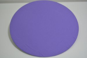capa de sousplat roxinho