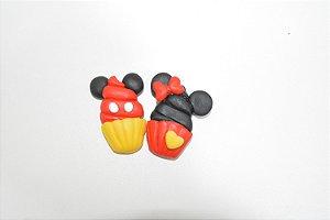 Imã bolinho Mickey e Minnie