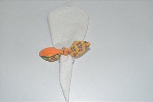 Porta Guardanapo de tecido mosaico com abacaxis