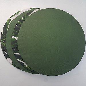 Kit 4 pessoas base e capas verdes e costela de Adão fundo branco