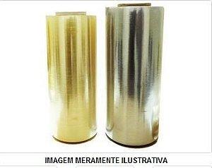 Bobina Filme PVC 60 cm - AMARELA - 1200 Metros - MICRA 12