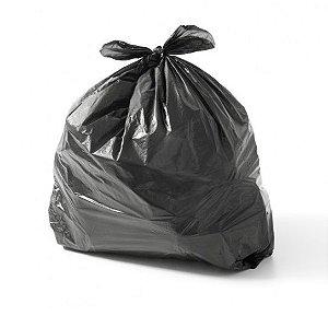 Saco Plástico para Lixo 59x62 - Ultra Resistente - Linha ABNT - 30 Litros - Alta Densidade - Preto - Itaquiti - Com 100 Unidades