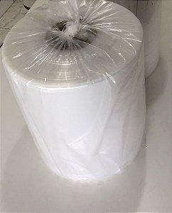 Bobina Plástica Açougue - 40 cm - Cristal em Baixa Densidade